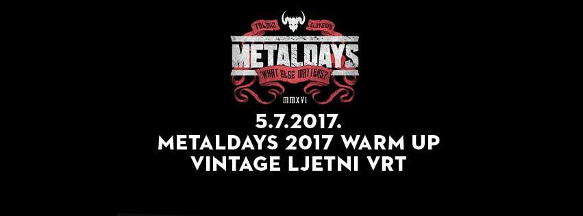 Metaldays Waramup