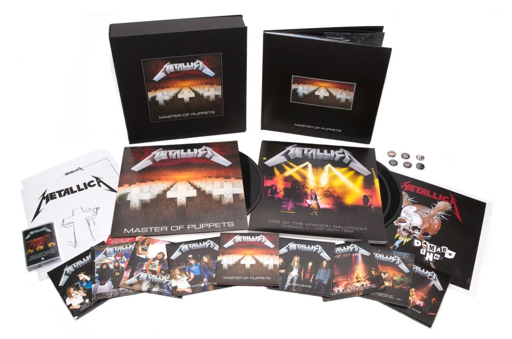 Metallica MoPbox set Universal Music 1