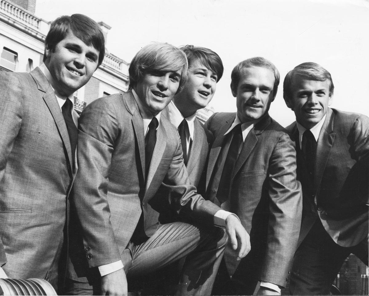 The Beach Boys bw suits in London cc Capitol Photo Archives web img