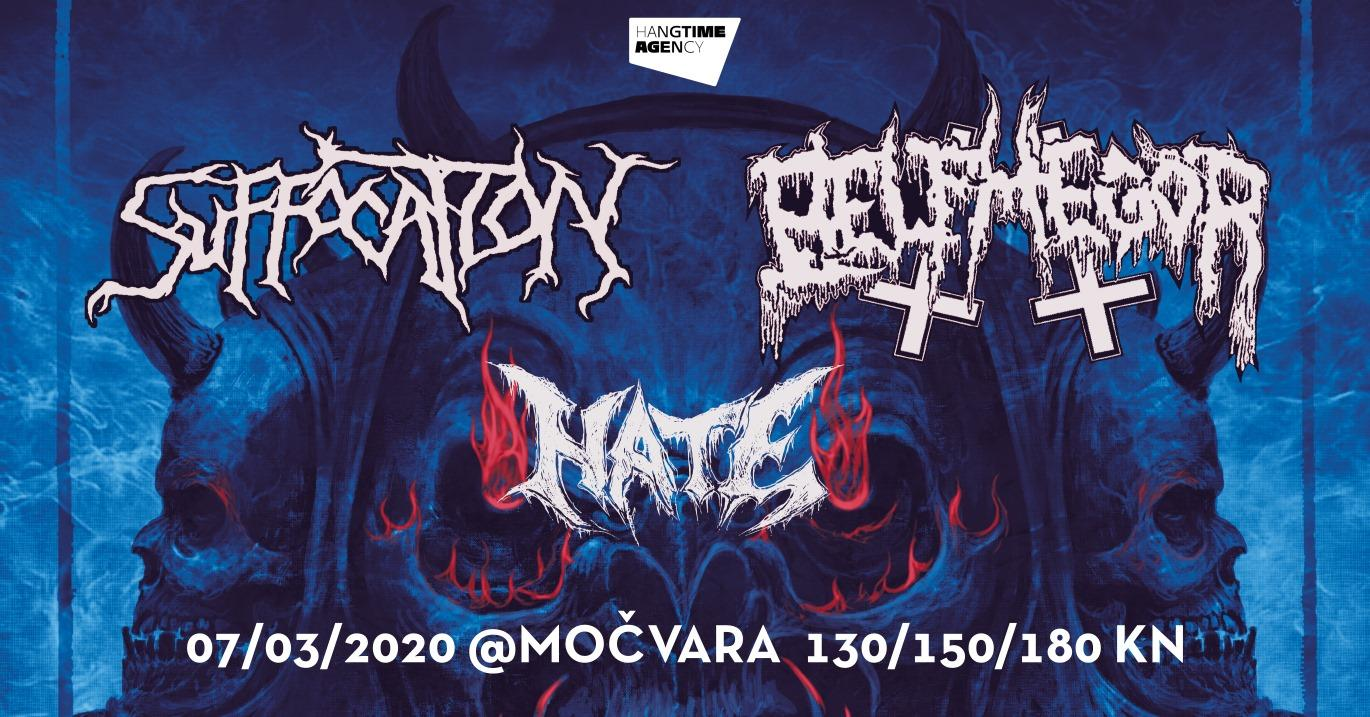 Suffocation rasprodao early bird ulaznice