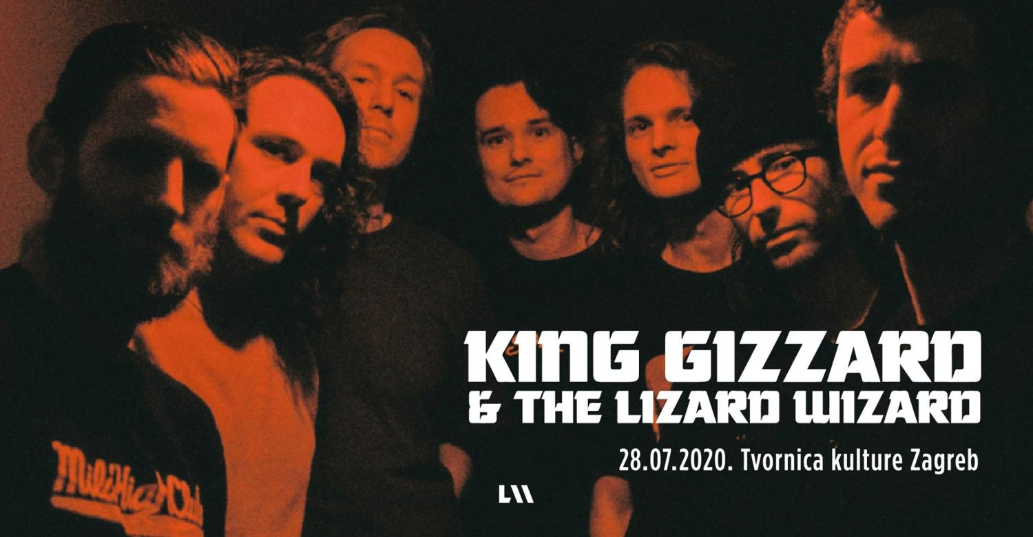 King Gizzard & The Lizard Wizard u Zagrebu