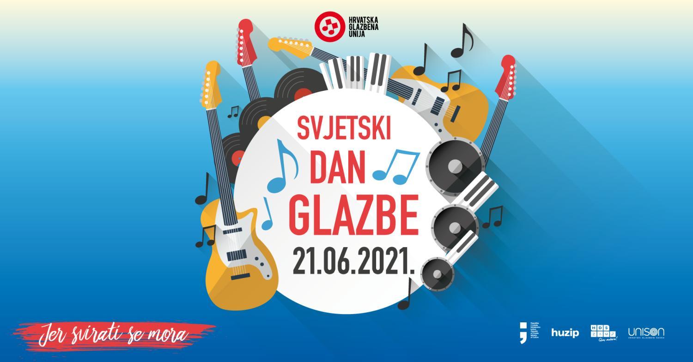 Svjetski dan glazbe diljem Hrvatske