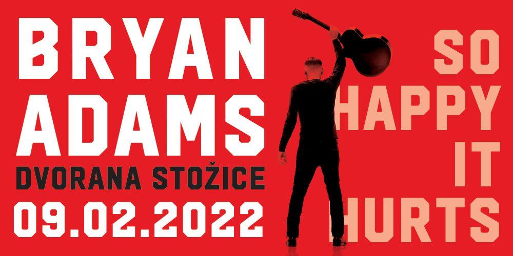 Bryan Adams u Ljubljani